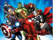 Vliesová fototapeta Avengers FTDNXXL5077 | 360 x 270 cm Fototapety pro děti
