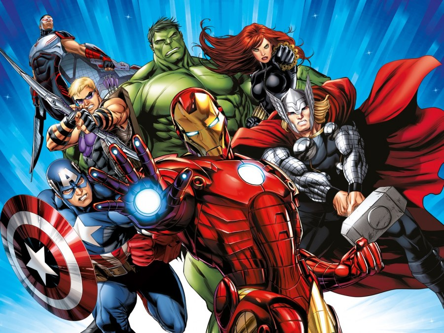 Vliesová fototapeta Avengers FTDNXXL5077   360 x 270 cm - Fototapety pro děti