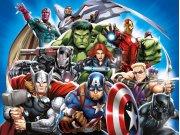 Vliesová fototapeta Avengers FTDNXXL5081 | 360 x 270 cm Fototapety pro děti
