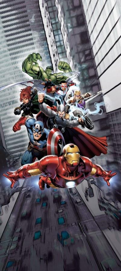 Vliesová fototapeta Avengers FTDNV5491 | 90 x 202 cm - Fototapety pro děti