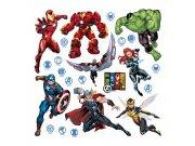 Samolepicí dekorace Avengers DKS3817 | 30 x 30 cm Dětské samolepky na zeď