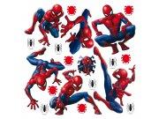 Samolepicí dekorace Spiderman DKS1090 | 30 x 30 cm Dětské samolepky na zeď