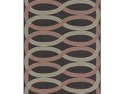 Vliesová Retro tapeta na zeď Glam 541755, 0,53 x 10 m | Lepidlo zdarma Tapety Rasch - Tapety Glam