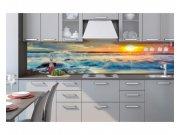Samolepicí fototapeta do kuchyně Západ slunce KI-260-109 | 260x60 cm Samolepící fototapety - Na kuchyňskou linku