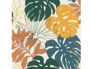 Vliesová tapeta s vinylovým povrchem barevné listy Denzo II 529302 | Lepidlo zdarma Tapety Rasch - Tapety Denzo