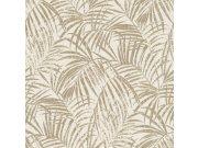 Vliesová přírodní omyvatelná tapeta s listy Denzo II 832174 | Lepidlo zdarma Tapety Rasch - Tapety Denzo