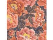 Vliesová omyvatelná tapeta květinový vzor Kimono 408348   Lepidlo zdarma Tapety Rasch - Tapety Kimono