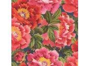 Vliesová omyvatelná tapeta květinový vzor Kimono 408355 | Lepidlo zdarma Tapety Rasch - Tapety Kimono