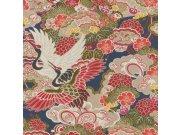 Vliesová omyvatelná tapeta v japonském vzoru Kimono 409352 | Lepidlo zdarma Tapety Rasch - Tapety Kimono