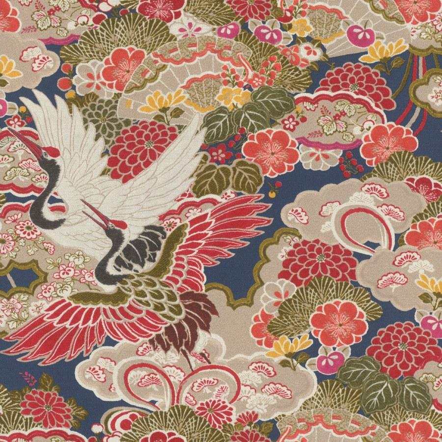 Vliesová omyvatelná tapeta v japonském vzoru Kimono 409352   Lepidlo zdarma - Tapety Kimono