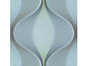 Luxusní geometrická vliesová tapeta H66061 Geometry | Lepidlo zdarma Tapety Vavex - Tapety Botanica