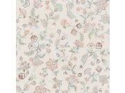 Vliesová omyvatelná tapeta Květinový ornamentální vzor 220470 Botanica | Lepidlo zdarma Tapety Vavex - Tapety Botanica