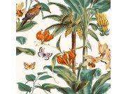 Vliesová tapeta Palmy s papoušky JF2002 Botanica   Lepidlo zdarma Tapety Vavex - Tapety Botanica