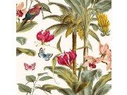 Vliesová tapeta Palmy s papoušky JF2001 Botanica | Lepidlo zdarma Tapety Vavex - Tapety Botanica