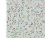 Vliesová omyvatelná tapeta Květinový ornament 220474 Botanica | Lepidlo zdarma Tapety Vavex - Tapety Botanica