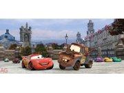 Fototapeta AG Cars v Londýně FTDH-0624 | 202x90 cm Fototapety pro děti