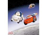 Fototapeta vliesová AG Cars ve vesmíru FTDNXL-5104 | 180x202 cm Fototapety pro děti