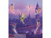 Fototapeta vliesová AG Fairies v londýně FTDNXL-5106 | 180x202 cm Fototapety pro děti