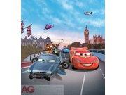 Fototapeta vliesová AG Cars v Londýně FTDNXL-5103 | 180x202 cm Fototapety pro děti