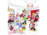 Fototapeta vliesová AG Minne Mouse FTDNXL-5108 | 180x202 cm Fototapety pro děti
