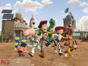 Fototapeta AG Toy Story FTDXXL-2205 | 360x255 cm Fototapety pro děti