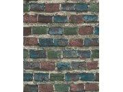 Vliesová tapeta barevná cihlová zeď Factory IV 428070 | Lepidlo zdarma Tapety Rasch - Tapety Factory