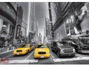 Fototapeta AG Žluté taxi FTS-1310 | 360x254 cm Fototapety na zeď