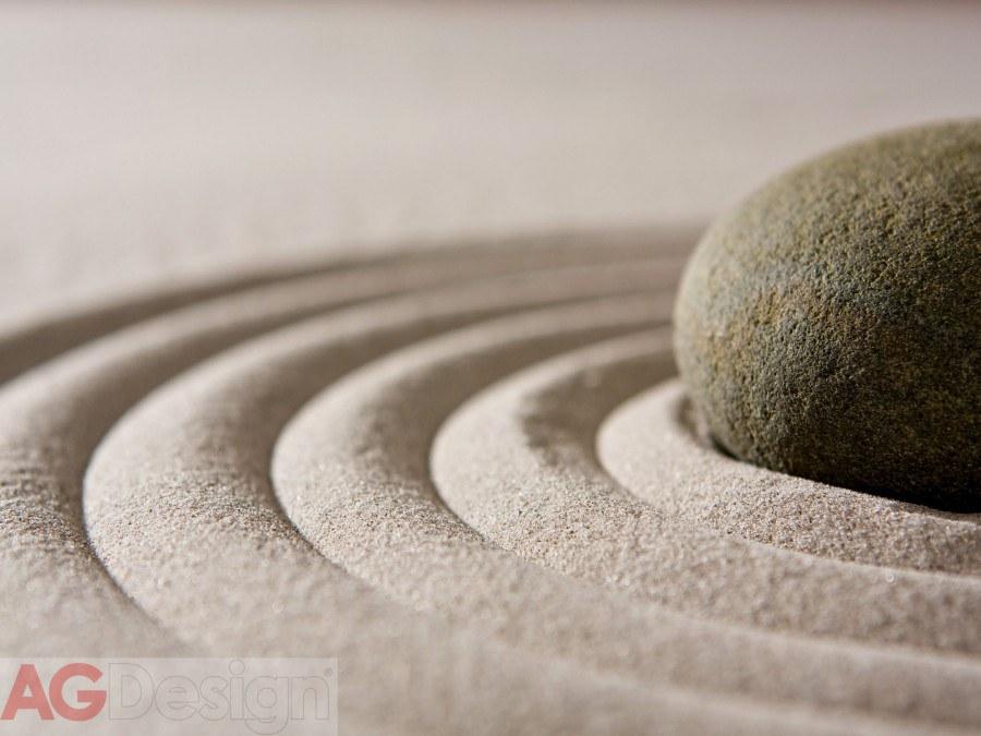Vliesová fototapeta AG Design Grey stones FTNXXL-1115, rozměry 330 x 255 cm