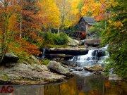 Vliesová fototapeta Autumn mill FTNXXL 1116, 360x270 cm Fototapety vliesové