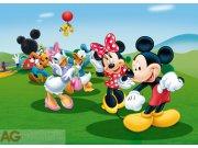 Vliesová fototapeta AG Mickey a kamarádi FTDNM-5212 | 160x110 cm Fototapety pro děti