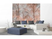 Vliesová fototapeta na zeď Abstrakt barevný les Fototapety vliesové