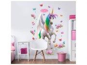 Samolepicí dekorace Walltastic Jednorožci 41066 Dětské samolepky na zeď
