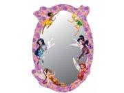 Dekorace zrcadlo Fairies DM-2104, 15x22 cm Dětské dekorace na zeď