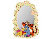 Dekorace zrcadlo Medvídek Pú a kamarád DM-2100, 15x22 cm Dětské dekorace na zeď