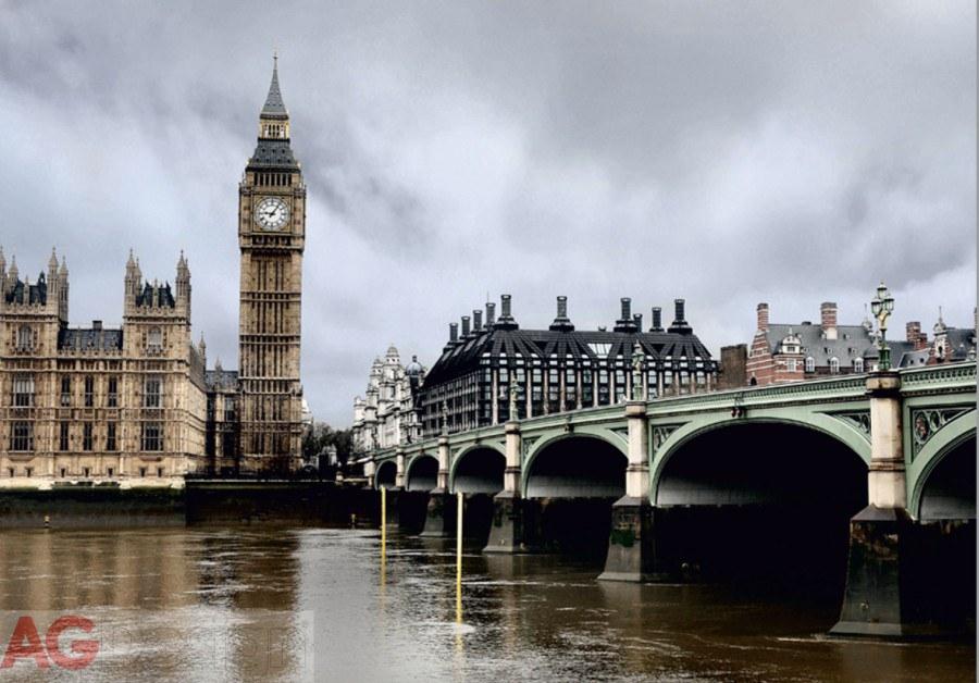 Fototapeta AG Londýn FTNXXL-0423 | 360x270 cm - Vliesové fototapety AG