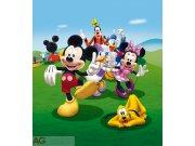 Fototapeta vliesová AG Mickey Mouse FTDNXL-5131 | 180x202 cm Fototapety pro děti