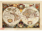 Fototapeta AG World map FTNM-2630 | 160x110 cm Fototapety vliesové - Vliesové fototapety AG