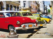 Fototapeta AG Cuba cars FTNM-2603 | 160x110 cm Fototapety vliesové