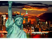 Fototapeta AG Sunset Liberty FTM-0812   160x115 cm Fototapety na zeď