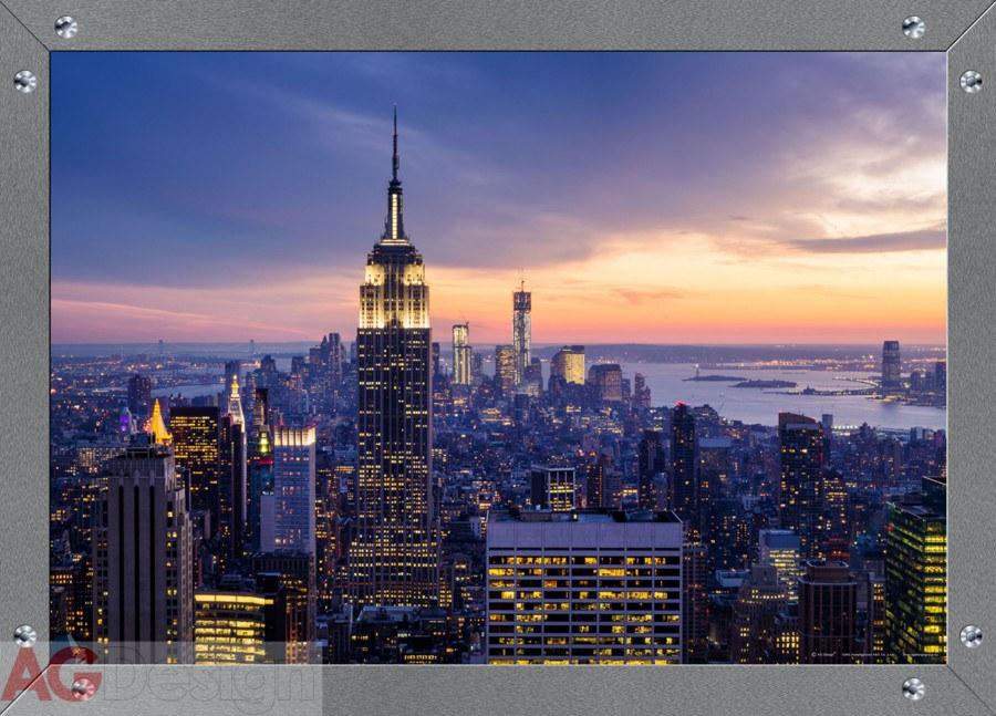 Vliesová fototapeta AG Design Window in theNY FTNM-2644, rozměry 160 x 110 cm