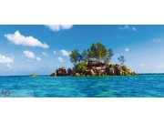 Vliesová fototapeta AG Ostrov v moři FTNH-2727 | 202x90 cm Fototapety vliesové - Vliesové fototapety AG
