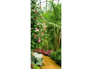 Vliesová fototapeta Winter Garden FTNV-2864 | 90x202 cm Fototapety vliesové - Vliesové fototapety AG