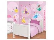 Samolepicí dekorace Walltastic Disney Princezny 41455 Dětské samolepky na zeď