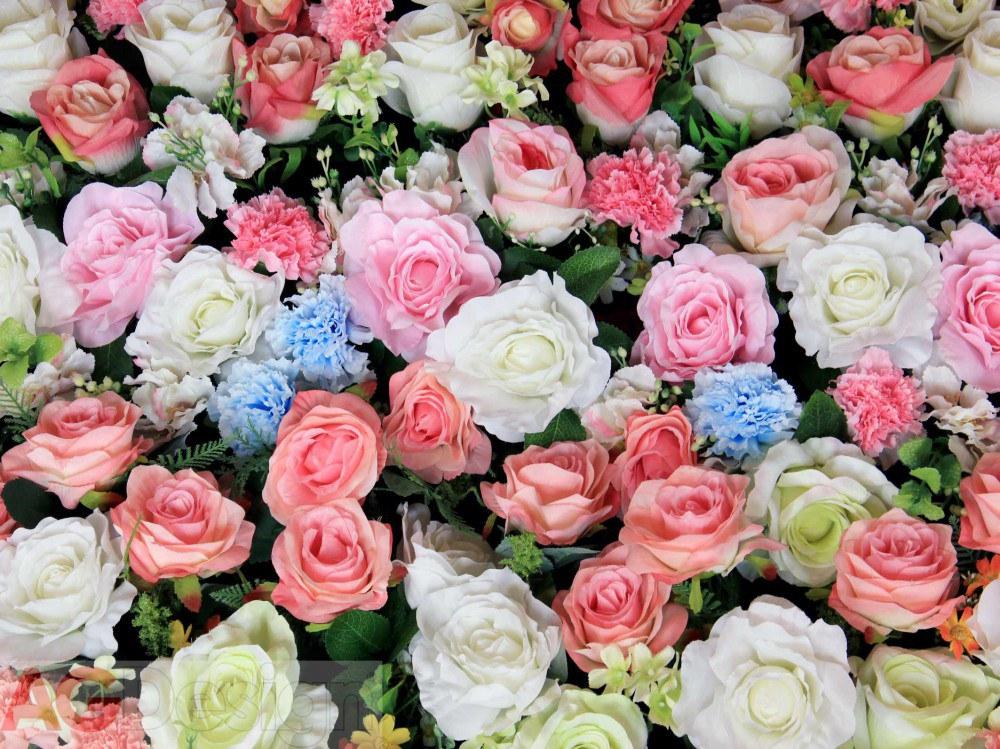 Vliesová fototapeta AG Design Flowers FTNXXL-2428, rozměry 330 x 255 cm