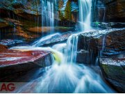 Fototapeta AG Waterfall FTNXXL-2426 | 360x270 cm Fototapety vliesové