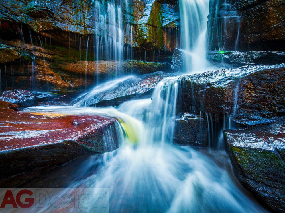 Fototapeta AG Waterfall FTNXXL-2426 | 360x270 cm - Fototapety vliesové