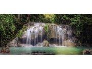 Fototapeta AG Waterfall FTNH-2743 | 202x90 cm Fototapety vliesové