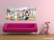 Vliesová fototapeta Minnie & Daisy FTDNH-5344 | 202x90 cm Fototapety pro děti