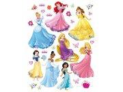 Samolepicí dekorace Princezny všechny DK-1722, 85x65 cm Dětské samolepky na zeď