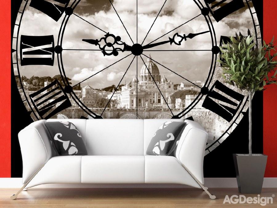 Fototapeta AG Hodiny FTS-1322 | 360x254 cm - Fototapety na zeď